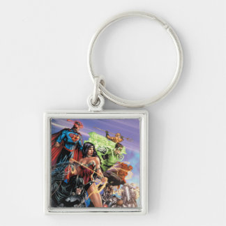 The New 52 Cover #5 Variant Keychain