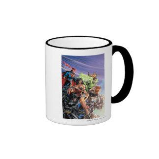 The New 52 Cover #5 Variant Ringer Coffee Mug