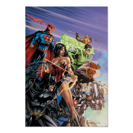 The New 52 Cover #5 Variant Poster