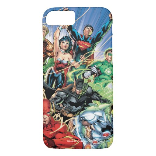 The New 52 - Justice League #1 iPhone 8/7 Case