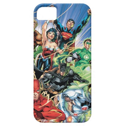 The New 52 - Justice League #1 iPhone SE/5/5s Case