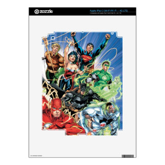 The New 52 - Justice League #1 Decal For iPad 3