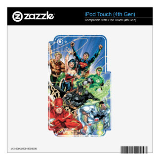 The New 52 - Justice League #1 iPod Touch 4G Skins