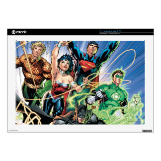 The New 52 - Justice League #1 Laptop Skins