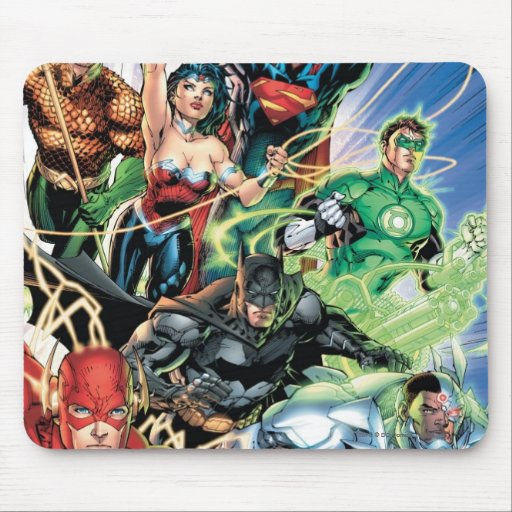 The New 52 - Justice League #1 Mousepads