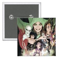 the new 52, new 52, dc comics, comics, 1, dc comics number 1, dc comics no. 1, Button with custom graphic design