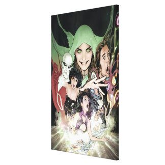 The New 52 - Justice League Dark #1 Canvas Print
