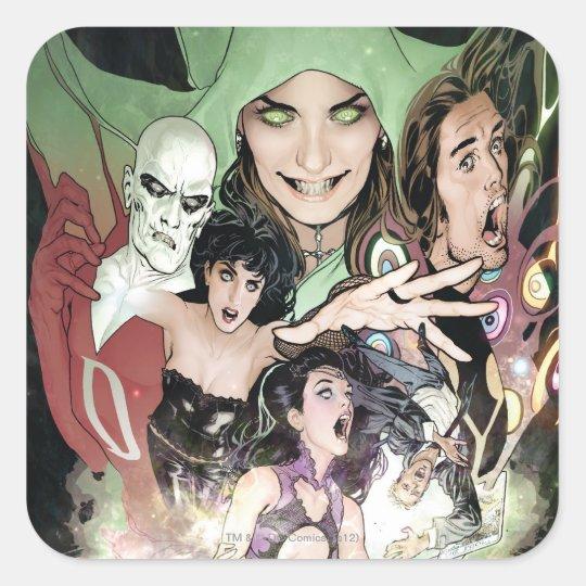 The New 52 - Justice League Dark #1 Square Sticker