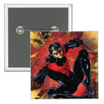 The New 52 - Nightwing #1 2 Inch Square Button