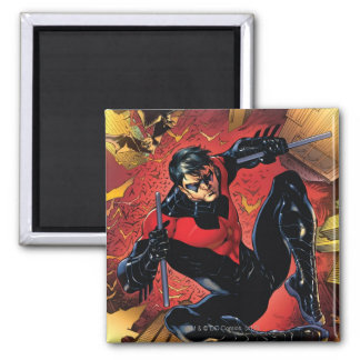 The New 52 - Nightwing #1 2 Inch Square Magnet