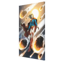 The New 52 - Supergirl #1 Canvas Print