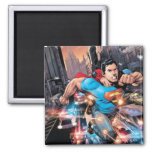 The New 52 - Superman #1 2 2 Inch Square Magnet
