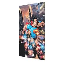 The New 52 - Superman #1 2 Canvas Print