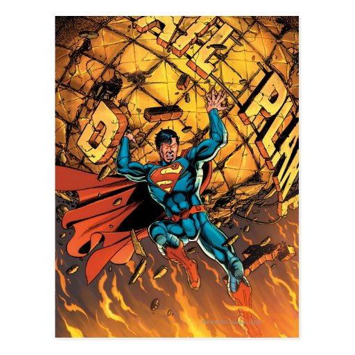 The New 52 - Superman #1 Postcard