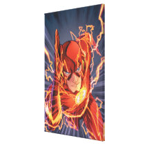 The New 52 - The Flash #1 Canvas Print