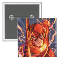 the new 52, new 52, dc comics, comics, flash, the flash, justice league, 1, the flash number 1, the flash no. 1, Button with custom graphic design