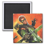 The New 52 - The Green Arrow #1 2 Inch Square Magnet