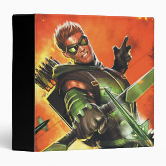 The New 52 - The Green Arrow #1 3 Ring Binder