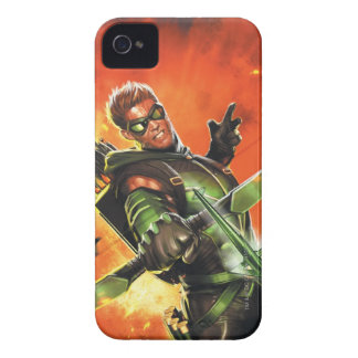 The New 52 - The Green Arrow 1 iPhone 4 Cases