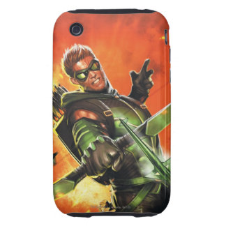 The New 52 - The Green Arrow 1 Tough iPhone 3 Covers