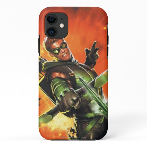 The New 52 - The Green Arrow #1 iPhone 11 Case