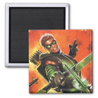 The New 52 - The Green Arrow 1 Fridge Magnets