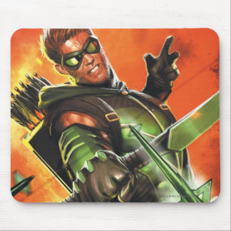 The New 52 - The Green Arrow 1 Mouse Pad