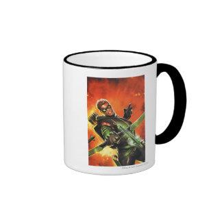 The New 52 - The Green Arrow #1 Ringer Coffee Mug