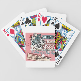 The New Age design Bicycle Playing Cards