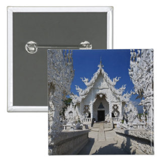 The new all white temple of Wat Rong Khun in Button