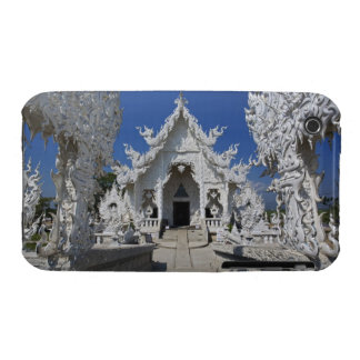 The new all white temple of Wat Rong Khun in iPhone 3 Case