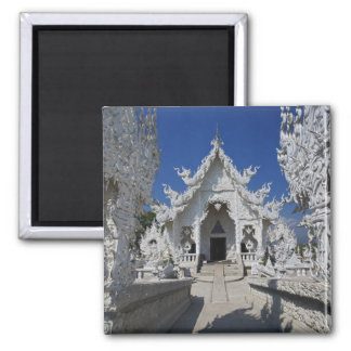 The new all white temple of Wat Rong Khun in Magnet