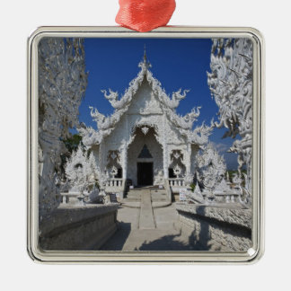 The new all white temple of Wat Rong Khun in Metal Ornament