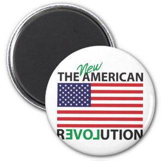 The New American Revolution 2 Inch Round Magnet