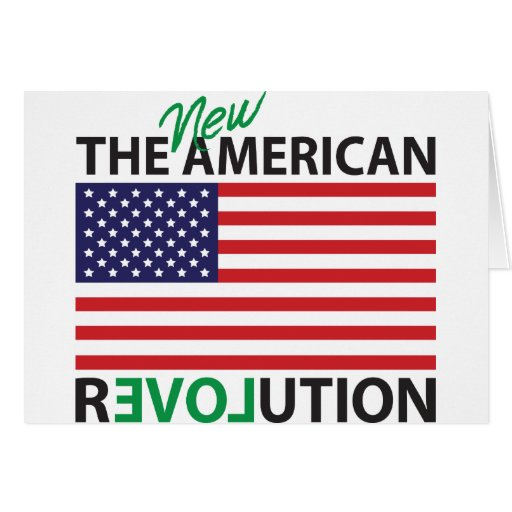 The New American Revolution Greeting Card