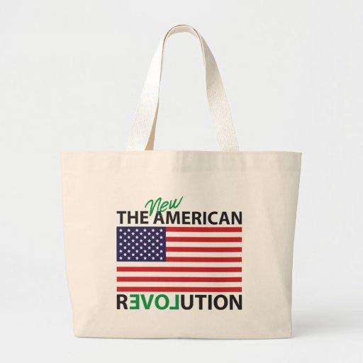 The New American Revolution Jumbo Tote Bag
