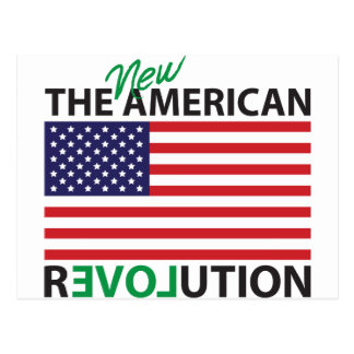 The New American Revolution Postcard