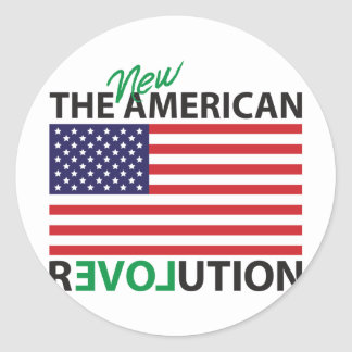 The New American Revolution Stickers