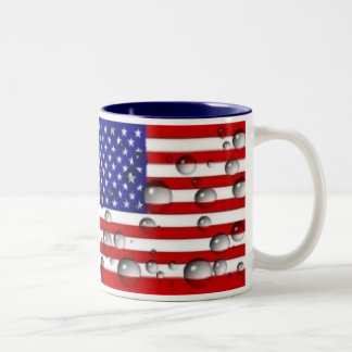 The New American Tea Party Two-Tone Coffee Mug