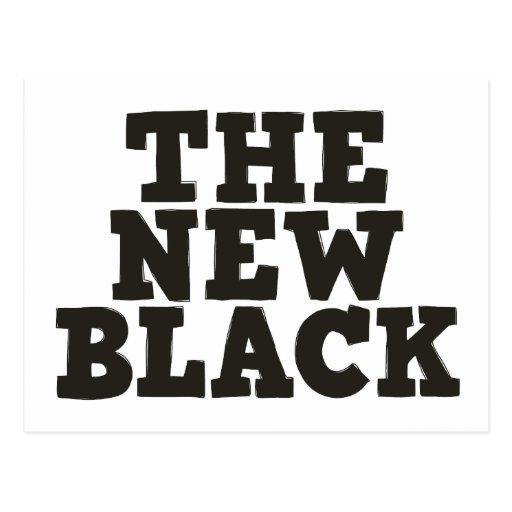 The New Black postcard