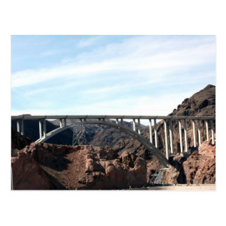 The New Bridge at Hoover Dam Postcard