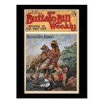 The New Buffalo Bill Weekly No. 210 1916 Post Cards