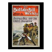 The New Buffalo Bill Weekly No. 250 1917 Postcard