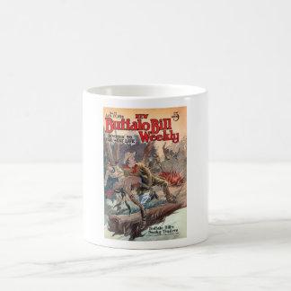 The New Buffalo Bill Weekly No. 71 1914 Coffee Mug