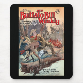 The New Buffalo Bill Weekly No. 71 1914 Mouse Pad