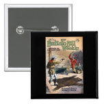 The New Buffalo Bill Weekly No. 74 1914 2 Inch Square Button