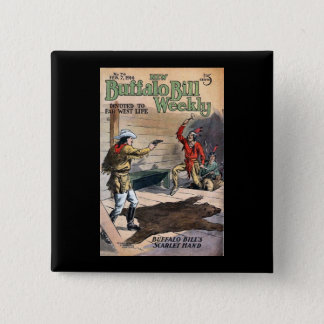The New Buffalo Bill Weekly No. 74 1914 Button
