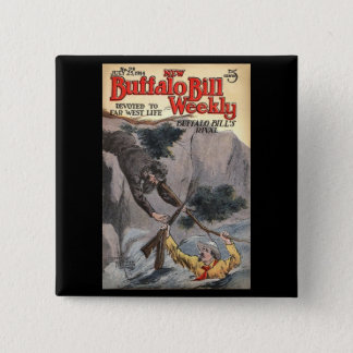 The New Buffalo Bill Weekly No. 98, 1914 Button