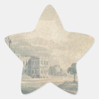 The New City Hall by Pavel Svinyin Star Sticker