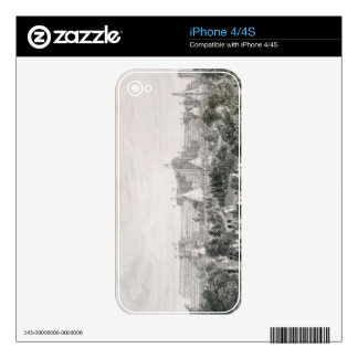 The New Crystal Palace at Sydenham, engraved by La iPhone 4 Decal